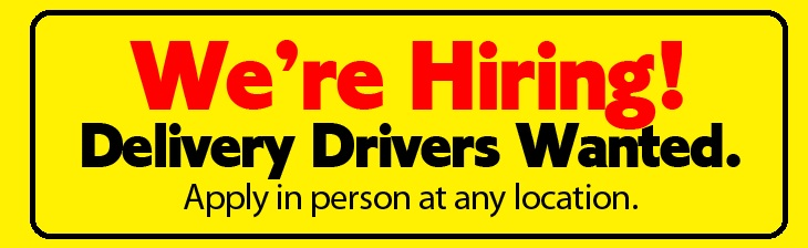 Now Hiring Apply Today!
